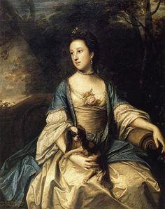 Caroline Spencer née Russell (1742/43-1811), Duchess of Marlborough. Married to George 3rd Duke