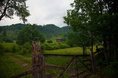 Summer Country Farm House Gate