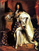 """In the early 1700s, France's King Louis XIV (The Sun King) would often wear intricate heels decorated with miniature battle scenes. Called """"Louis heels,"""" they were often as tall as five inches."""
