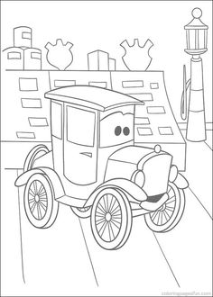 Cars Movie Characters Coloring Pages Free Pictures To Print And Color For When My Kid Stops Eating Crayons