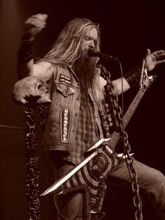 Zakk Wylde of Black Label Society Rock N Roll, Black Label Society, Zakk Wylde, Music Is My Escape, Heavy Metal Music, Ozzy Osbourne, Metalhead, Great Bands, My Favorite Music
