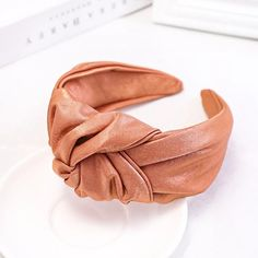 MILANO LUXE Satin Knotted Headband – Club Canopée