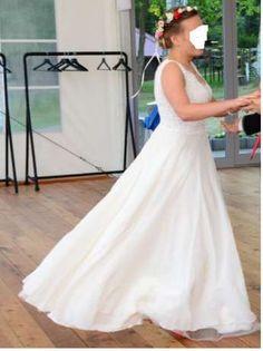59588af611 Suknia ślubna od Sylwii Kopczyńskiej rozmiar 38 kolor ivory Gdańsk - image 3