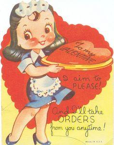 1940s Valentine Card