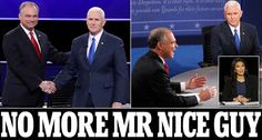 Vice Presidential debate sees Tim Kaine go all out attack on Trump