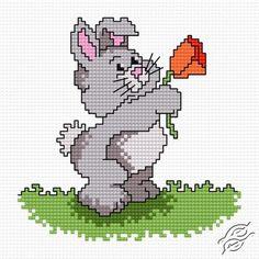 Rabbit Karol - Free Cross Stitch Pattern
