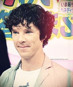 Benedict looks so cute in this picture!
