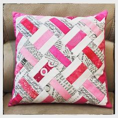 "103 Likes, 6 Comments - Jolie Maxtin (@joliemaxtin) on Instagram: ""Sincere thanks to @savbrett for this fabulous #teampinkpillow in the #pinkswap2017!  I  it! It's…"""