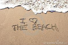 I love the beach written in the sand at Haumoana Beach, Hawke's Bay, New Zealand