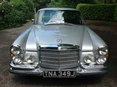 1971  Mercedes 280 SE 3.5 Coupe RHD Automatic