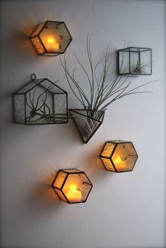 ステンドグラスの小さい物たち