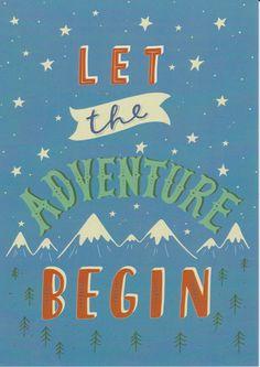 Adventure Print, Inspirational Quote, Travel Print, Kids Wall Art, Mountain…