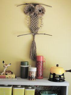 Oh Sew Nostalgic: Macrame Owl (full instructions included)