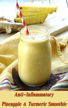 Anti-Inflammatory Pineapple & Turmeric Smoothie