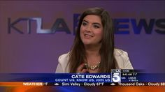 We are excited to share Cate Edwards discussing advanced #breastcancer and Count Us on KTLA5 #inspiration