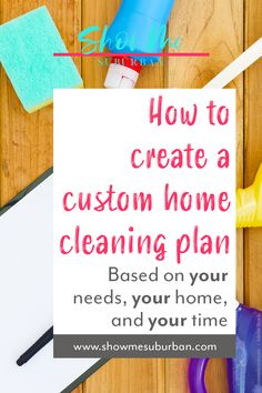 How to Create a Practical Home Cleaning Plan - ShowMe Suburban Bathroom Cleaning Checklist, Weekly Cleaning Checklist, Cleaning Hacks, Cleaning Routines, Cleaning Lists, Cleaning Schedules, Speed Cleaning, Chore List For Kids, Chores For Kids