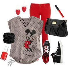 Mickey & Minnie Outfits 2013 for Women by Stylish Eve