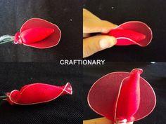 stocking net rose tutorial nylon flower instructions