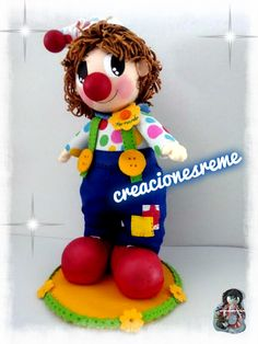 creacionesreme@gmail.com wasap 655536710 fofucho pampito payasito pampito #pampito #fofuchas