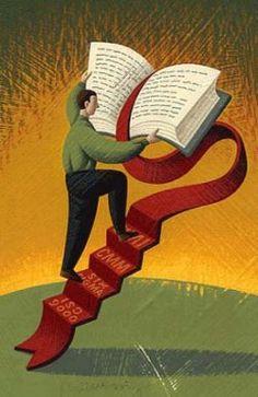 Climb into a book<3