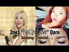 """2NE1 """"Falling In Love"""" DARA Inspired Makeup Tutorial - YouTube"""