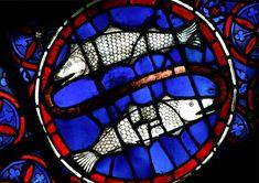 Cathédrale Notre Dame de Paris, vitrail du poisson