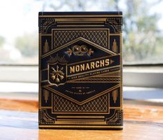 Monarchs casino playing cards packaging
