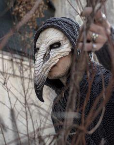 Pestilence Crow Mask by SanseverinoFrancesco on Etsy