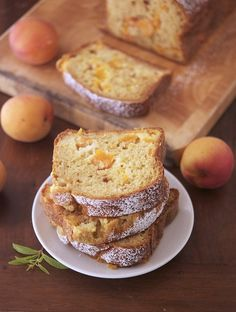 Skinny Apricot Cake: 12 big slices. One slice yields 140 calories, >1g fat, 32g carbs, 5.3g protein. Ingredients:  2 cups / 10.5 oz / 300 gr whole wheat flour ½ cup / 3.5 oz / 100 gr firmly packed brown sugar 2 free range eggs ¾ cup / 6.7 oz / 190 gr Greek yogurt 1 ½ teaspoon baking soda 1 ½ teaspoon baking powder ¼ teaspoon fine grain sea salt 1 lb / 453 gr ripe apricots, cored, and chopped smallish (I went for a ⅓-inch dices) 1 teaspoon vanilla extract ½ tablespoon fresh grated ginger