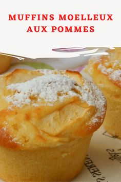 Muffin Recipes 54526 These soft apple muffins are great for our kids, so they'll eat something good and easy to make because they are made with simple, authentic ingredients. Also perfect for breakfast as well as a snack. Delicious Desserts, Dessert Recipes, Desserts With Biscuits, Cake Factory, Apple Muffins, Christmas Snacks, Cupcakes, Biscuit Cookies, Muffin Recipes