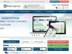 Information and trader's reviews for RoboOption - a CySEC regulated binary options broker