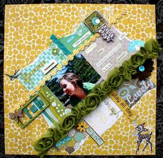 Summer pleasures Crate paper, and chatterbox , plus a nice mix of other goodies