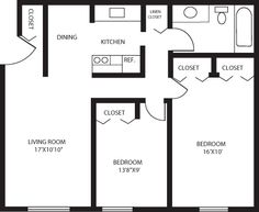 E Tree Apartments Two Bedroom Apartment Floor Plans And Rates Anja Wittwer 750 Sq Ft