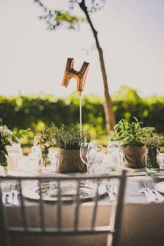 Erbe aromatiche per un matrimonio all'aperto | Wedding Wonderland