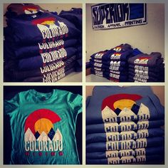 Put in work on this one. If anyone ends up with one of these shirts this weekend at #coloradorising concert take a photo and tag @superiorink for a chance to win a free t-shirt and sticker pack. And enjoy the show while helping support #colorado flood relief #fashion #apparel #printing #superiorink