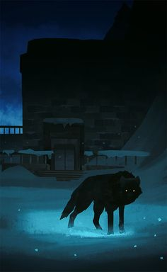 #tbt to that dam(n) wolf nicknamed Fluffy from The Long Dark :) Copyright Hinterland Studio.