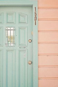 i really want to paint the office door a fun color :) #ghdpastels