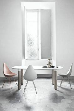 40 moderne Esszimmerstühle ,die dem Raum ein cooles Aussehen verleihen