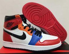 "8bb86257503 Air Jordan 1 High OG ""Rainbow"" For Sale Nike Timberland, Custom Shoes,"