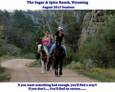 "We still have room in our 2nd weeklong package for Wyoming!!!!  Not many, not many!!  But, if you've been on the fence about coming.......DO NOT WAIT!!!  ""DREAMS REMAIN DREAMS UNLESS YOU MAKE THEM A REALITY"" ~Miss Leigh~"