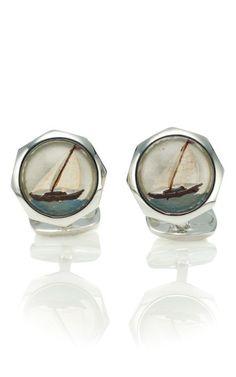 Ship earrings.