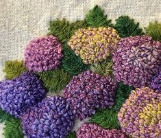 how to do brazilian embroidery stitches Brazilian Embroidery Stitches, French Knot Embroidery, Hand Embroidery Videos, Embroidery Stitches Tutorial, Hand Embroidery Flowers, Embroidery Flowers Pattern, Embroidery Hoop Art, Ribbon Embroidery, Cross Stitch Embroidery