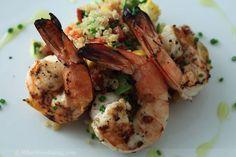 Lemon-Herb Grilled Shrimp & Quinoa Salad « What We're Eating – A Food & Recipe Blog