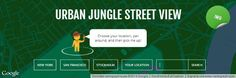 Transformez votre ville en jungle urbaine sur Google Maps : Urban Jungle Street View #SiteWeb