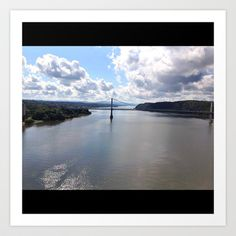 The Hudson Valley Art Print by Nina Ainembabazi - $12.48