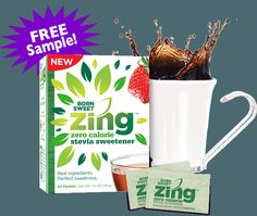 FREE sample of Zing Zero Calorie Stevia Sweetener - http://gimmiefreebies.com/topic/free-sample-of-zing-zero-calorie-stevia-sweetener/