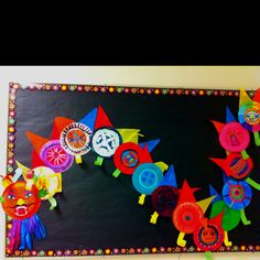 Chinese new year dragon - each child paints a paper plate. & My take on the paper plate dragon   Chinese New Year   Pinterest ...