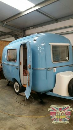 Another anazingly vintage caravan restoration just finished. 'Barton' the 1975 BIOD Bambi.