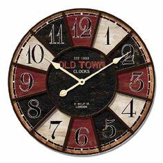 Reloj de pared moderno RE-99548, Tienda especializada en venta de relojes de pared