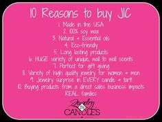 Here's some great information about Jewelry In Candles!  You're invited to shop online at http://uniquemoniqueboutique.com Please take a moment to watch these videos.... JIC Nation - https://vimeo.com/137898285 Dream Factory - https://vimeo.com/141233351 JIC Naturals - https://vimeo.com/143922765 Quota - https://vimeo.com/160917869